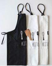 Kitchen Apron With Pockets Waterproof  Man Woman - $16.60