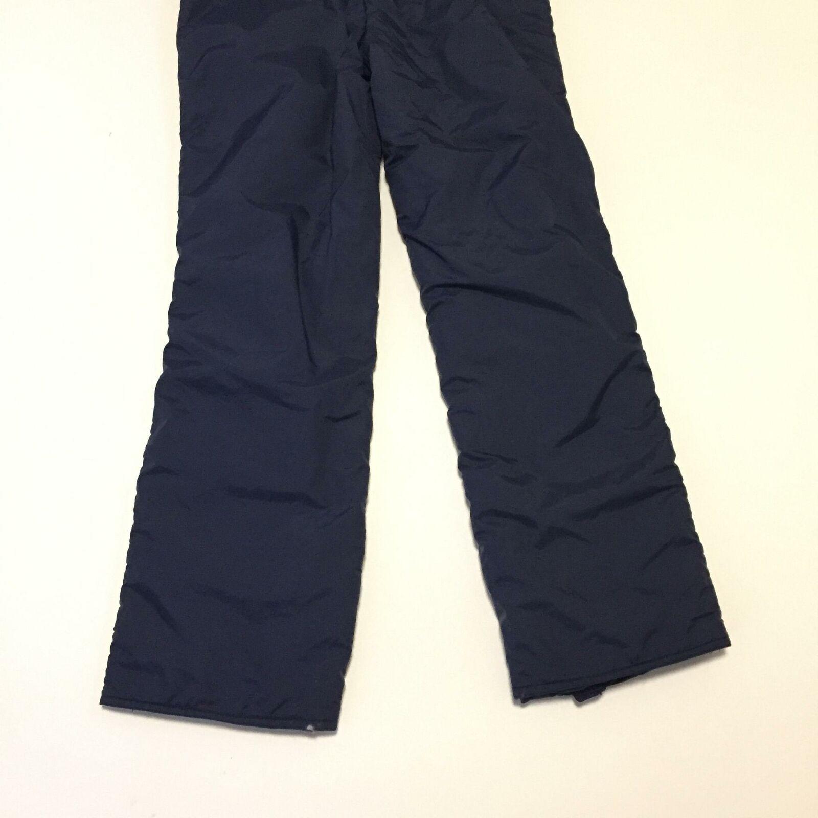 YT Sports Ladies 12 Ski Snow Pants Blue Bib Winter Outdoor Sports