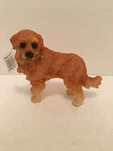 """Golden Retriever Figurine Resin Puppy Dog Gifts 5"""" l x 4"""" tall Pets Coll... - $9.89"""