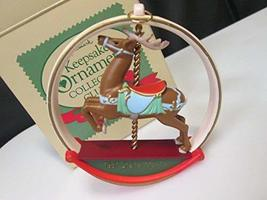 Hallmark Carousel Reindeer 1987 Ornament (Hallmark Keepsake Ornament Collector's - $6.93