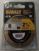"""DEWALT DWA1841 2-9/16"""" (65mm) 2X Hole Saw USA - $9.90"""