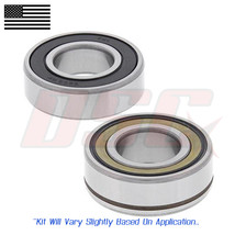 ABS Rear Wheel Bearings For Harley Davidson 96cc FXDWG Wide Glide 105TH Ann 2008 - $33.00