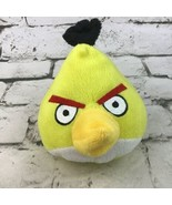 Angry Birds Plush Yellow Chuck Stuffed Animal Gamer Toy By Hartz Flaw-No... - $11.88