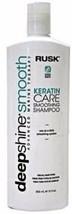 Rusk Keratin Care Smoothing Shampoo 12 fl oz Daily Use - $14.99
