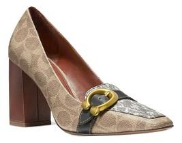 Coach Jade Loafer Shoes TAN/Natural/Black 8.5 MSRP: $275.00 - $223.73