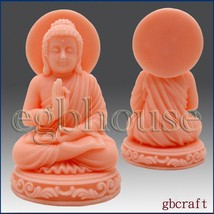 egbhouse, 3D Silicone Soap & Candle Mold Sitting Buddha - $54.70
