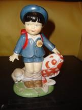 The Franklin Mint U. N. Children Taro from Japan 1978 Porcelain Figurine EX - $8.99
