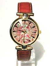Fossil Dodecahedron Fashion Watch With Leather Strap - $34.58