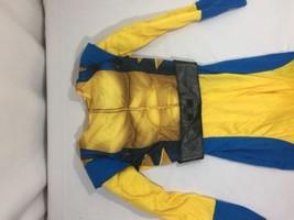 Marvel Kids X-Men Halloween Costume Size S Yellow ,blue Full Costume Bin... - $9.50