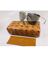 New MCM626S 041 Slate Visetos & Gold Sunglasses 55mm with Case - $123.75