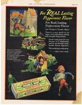 1927 WRIGLEY'S DOUBLE MINT CHEWING GUM MOTHER GOOSE Print Ad - $9.99