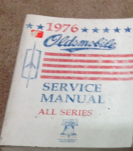 1976 gm oldsmobile olds all series service repair workshop manual oem - $10.87