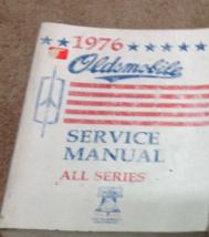 1976 gm oldsmobile olds all series service repair workshop manual oem - $10.87