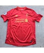 New Balance Liverpool FC Coutinho Soccer Jersey #10 Men's Large 2016 2017 - $38.99
