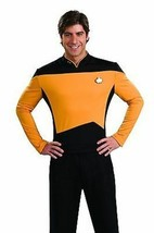 RUBIES STAR TREK Deluxe TNG Next Generation Yellow HALLOWEEN COSTUME 888980 - $33.99