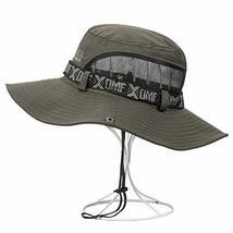 PANDA SUPERSTORE Male Hat Outdoor Summer Sun Hat Fishing Hat Beach Hat Straw Hat