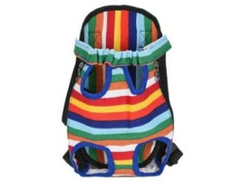 Colorful Pet Carrier Backpack - Perfect for Your Puppy!
