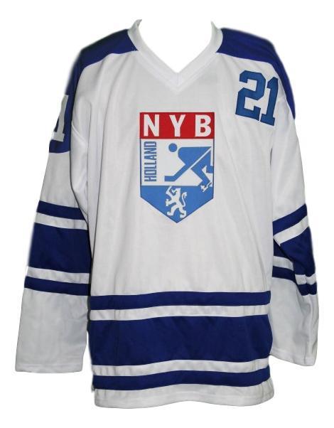 Team holland nyb retro hockey jersey white   1