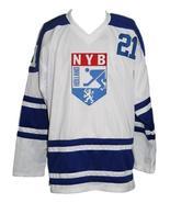 Custom Name # Team Holland Retro Hockey Jersey New White #21 Any Size - $54.99+