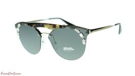 Prada Sunglasses PR53US I8N5S0 Pale Gold Medium Havana/Grey Lens 42mm - $193.03