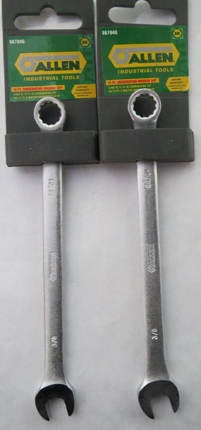 "Primary image for Allen 66704G 12 Point 3/8"" Combination Wrench 2 Pieces"