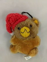 "Hallmark Teddy Bear Ornament 4"" 1981 Stuffed Animal Toy - $9.70"