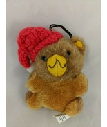 "Hallmark Teddy Bear Ornament 4"" 1981 Stuffed Animal Toy - $9.70"