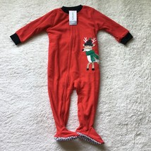 Carter's Christmas Holiday Sleeper Unisex 12 Months New With Tags - $14.84