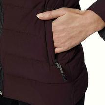 32 Degrees Women's 4-Way Stretch Puffer Jacket Light Weight Eggplant Size XLarge image 3