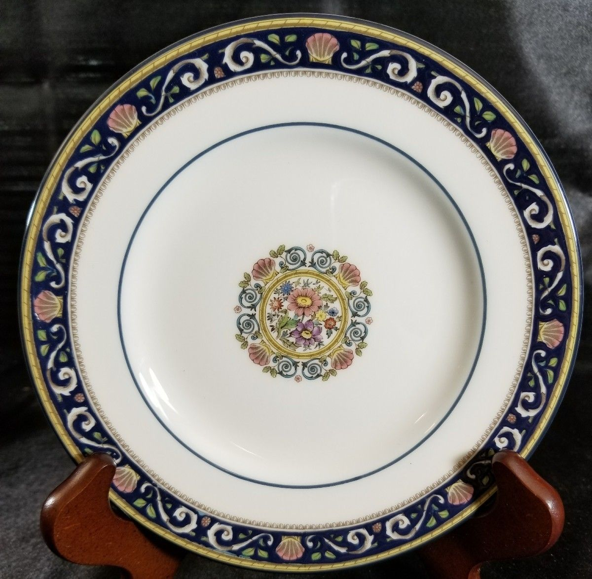 "Wedgwood Runnymede Blue Bread Plate 6"" (multiple available)"
