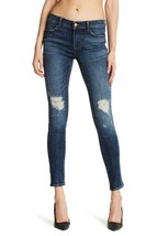 $228 J Brand - 620 Mid-Rise Super Skinny in Dark Erosion (Destroyed) - Size 26 image 1