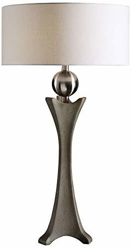 Uttermost Haver Concrete Column Table Lamp