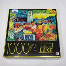 Big Ben LUXE A View From Corfe Castle Dorset Jigsaw Puzzle 1000 pieces #6056438 - $12.95