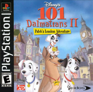 101 Dalmatians 2 Patch's London Adventure PS1 Great Condition Complete