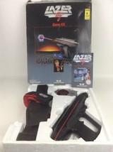 Lazer Tag Game Kit Tested Vintage 1986 Worlds of Wonder Pistol Holster S... - $69.25