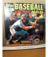 Topps Baseball Sticker Album 1982, Complete with Stickers - $8.99