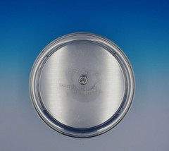 Betsy Patterson by Stieff Sterling Silver Tray Round Applied ATA Insigni... - $620.10