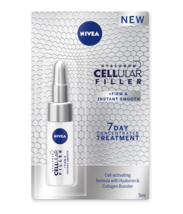 NIVEA CELLULAR FILLER AMPOULES Anti-Age Intensive Care Hyaluronic Serum 5gr - $7.47