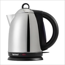 Aroma AWK-115S 1.5-Liter Stainless Steel X-Press Water Kettle - £35.27 GBP