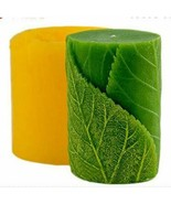 Leaves Shape Silicone Mould 3D Candle Soap Making Epoxy Resin Craft Clay... - $34.58