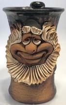 Vintage Bombur the Dwarf from the Hobbit Pottery Face Jug Mug Coffee Smi... - $97.99