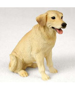 LABRADOR (YELLOW) LAB DOG Figurine Statue Hand Painted Resin Gift Pet Lo... - $16.74