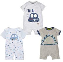 StylesILove Baby Boy Lovely Garphic Print Romper - $11.99