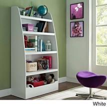 4 Shelf   Kids Bookcase Bookshelf  Wood Toy Storage Organizer Display Be... - $134.63