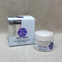 Spa Cosmetics Collagen Age Harmony 40+ Night Cream Collagen & Retinol 1.69 fl oz - $23.99
