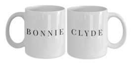His Hers Mugs - Bonnie and Clyde Coffee Mugs - Couples Mugs Make A Great... - $29.95
