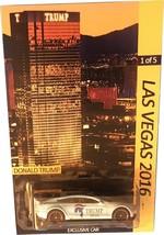 TESLA S CUSTOM-Made Hot Wheels Las Vegas Trump Tower Limited Edition Onl... - $93.85