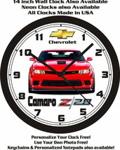 2014-2015 CHEVROLET CAMARO Z28 WALL CLOCK-FREE USA SHIP - $25.73