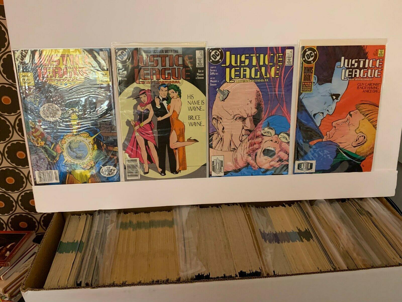 JUSTICE LEAGUE INTERNATIONAL (DC COMICS) 1987-1990, 1993-1994, 2008 VF 15 BOOKS