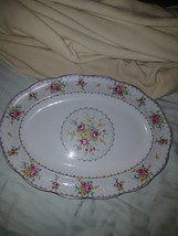 Royal AlbertHuge Petit Point china Platter #12 - $64.89
